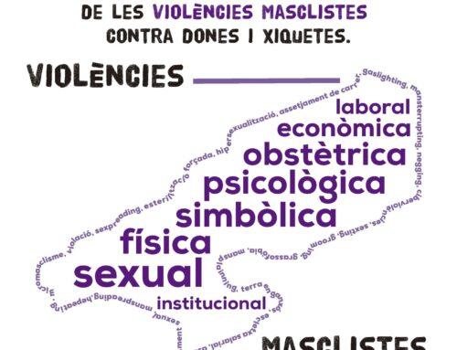 """""""Campanya comarcal de visibilització de les violències masclistes contra les dones i xiquetes"""""""